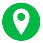 Símbolo localización GPS